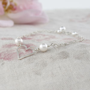 Amara Ivory Pearl And Sterling Silver Bracelet