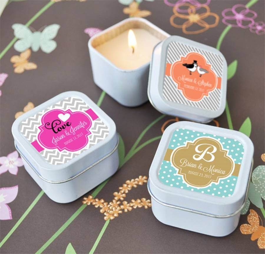 personalised candle favours by hope and willow. Black Bedroom Furniture Sets. Home Design Ideas
