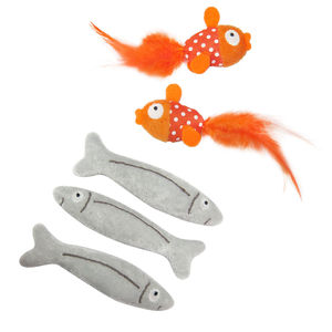 Fishy Catnip Toys