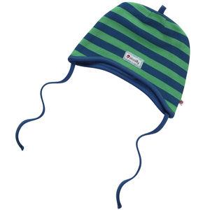 Kelly Green Stripe Peruvian Hat