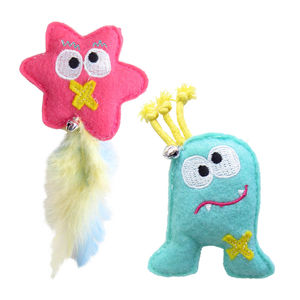Monster Catnip Toys - cats