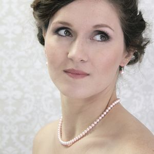 Alexia Pink Pearl And Sterling Silver Necklace - wedding jewellery