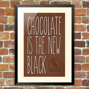 Chocolate Is The New Black - pet-lover