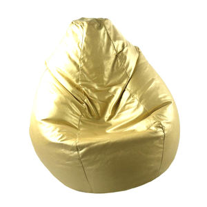 Moroccan Gold Slouchy Bean Bag Chair - bedroom