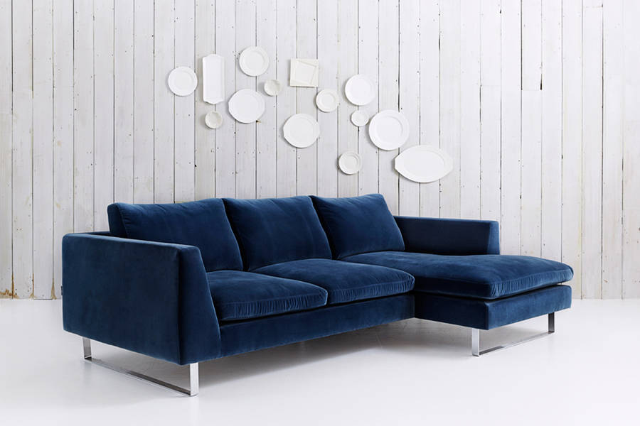 Jasper Modern Sofa With Chaise By Love Your Home