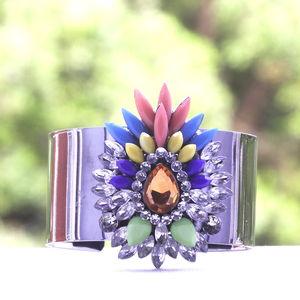 Pineapple Rainbow Cuff