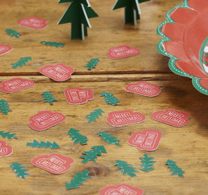 Christmas Table Party Confetti