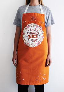 Fairground Apron - kitchen linen