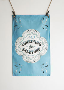 Fairground Tea Towel