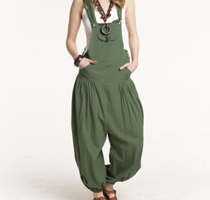 Harem Jumpsuit Dungarees - women's fashion