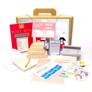 World Of Imagination Make Believe Post Office Playset - pretend play & dressing up