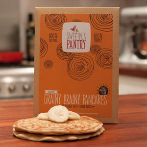 Gluten Free Grainy Brainy Pancakes Mix - gluten free food gifts