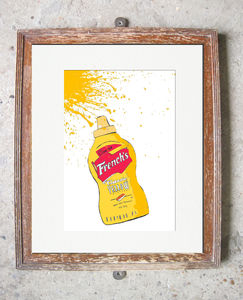 American Mustard - canvas prints & art