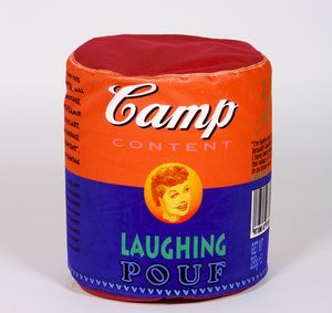 'Laughing' Pouf