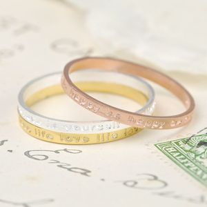 Set Of Mixed Metal Stacking Rings - rose gold jewellery