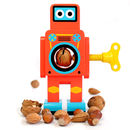 Small Red Robot Nutcracker