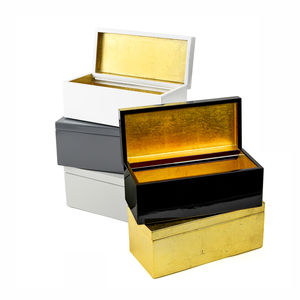 Lacquered Vanity And Jewellery Box