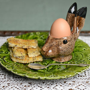 Hare Egg Cup - egg cups & cosies