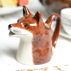 Mr Fox Cream Jug - sugar bowls & cream jugs
