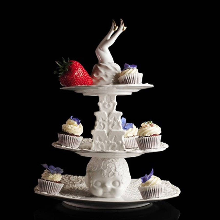 wedding cake stand not on the high street blaue blume cake stand by the form emporium 25639