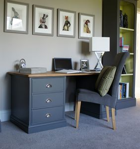 Baslow Writing Desk Available In Choice Of Colours - furniture