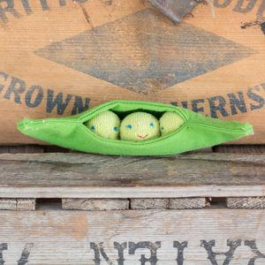 Baby Vegetable Pea Rattle