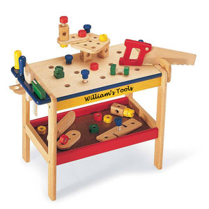 Wooden Workbench - toys & games