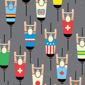 Peloton Cycling Art Print - posters & prints