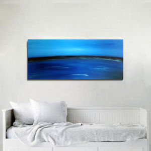 Original Contemporary Seaside Abstract Art - paintings & canvases