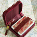 Playing Cards In Zipped Leather Case