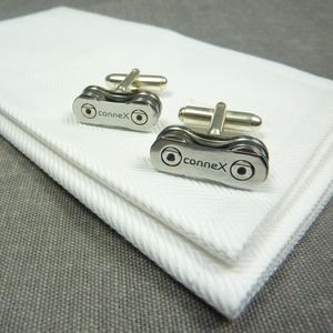 Connex Wippermann Bicycle Chain Cufflinks - cufflinks