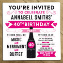 Personalised Birthday Or Wedding Party Invite