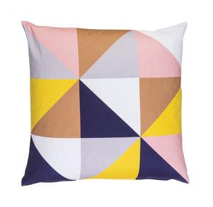 Geo Print Cushion - cushions