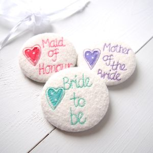 Personalised Wedding Party Mirror - compact mirrors