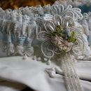Handmade Vintage Bridal Garter