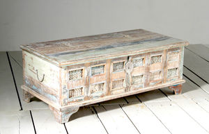 Whiteleaf Trunk Box Coffee Table - furniture