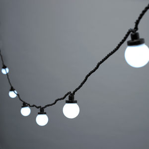 White Festoon Party Lights - lights & lanterns