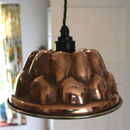 Copper Jelly Mould Light