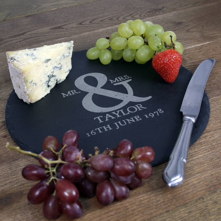 44c9ab17af1 personalised ampersand slate cheese board by the letteroom ...