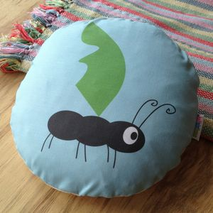 Children's Ant Cushion - decorative accessories