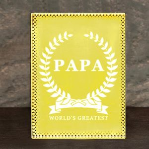 'World's Greatest' Personalised Paperweight
