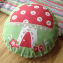 Children's Toadstool Cushion