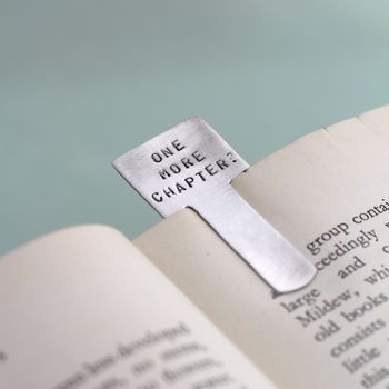 Stock Personalised Bookmark