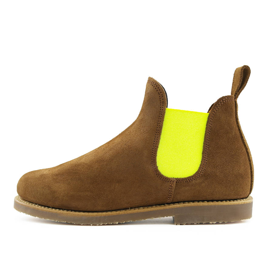 women s relaxed chelsea boots by dukes boots  baa76180d7ec