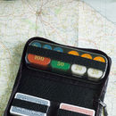 Travelling Poker Set In Real Leather Case