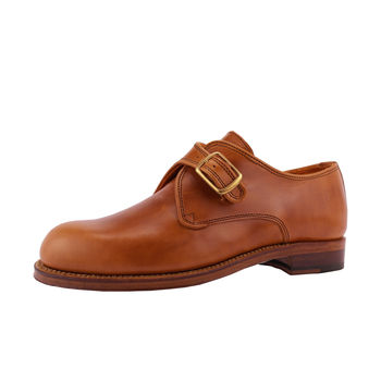 Women's Chainey Leather Monk Shoes