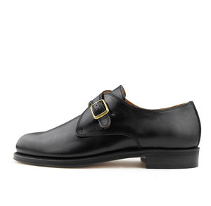 Men's Austen Leather Monk Shoes - men's fashion