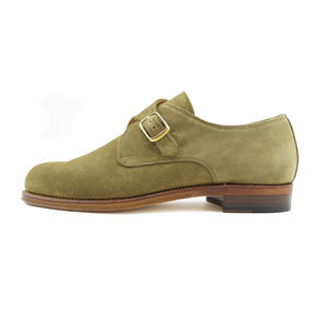 Men's Blake Suede Monk Shoes - men's fashion