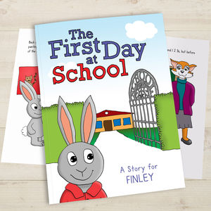 Personalised First Day At School - books