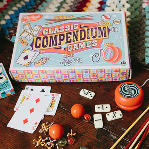 Traditional Five Game Compendium - toys & games